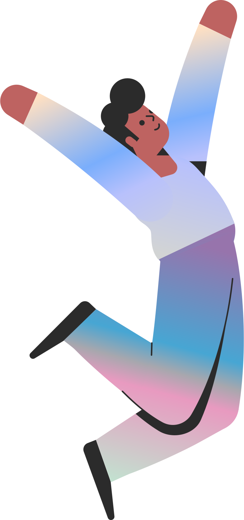 dancing man Clipart illustration in PNG, SVG