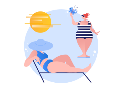style Summer time images in PNG and SVG | Icons8 Illustrations