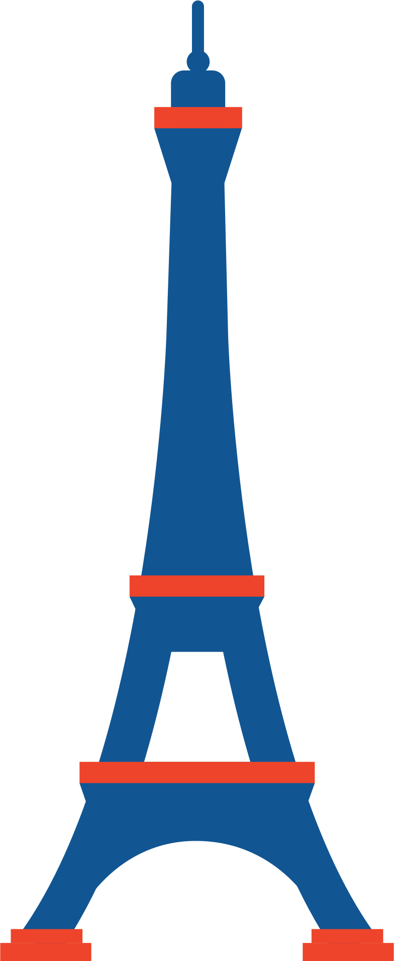 effel tower Clipart illustration in PNG, SVG