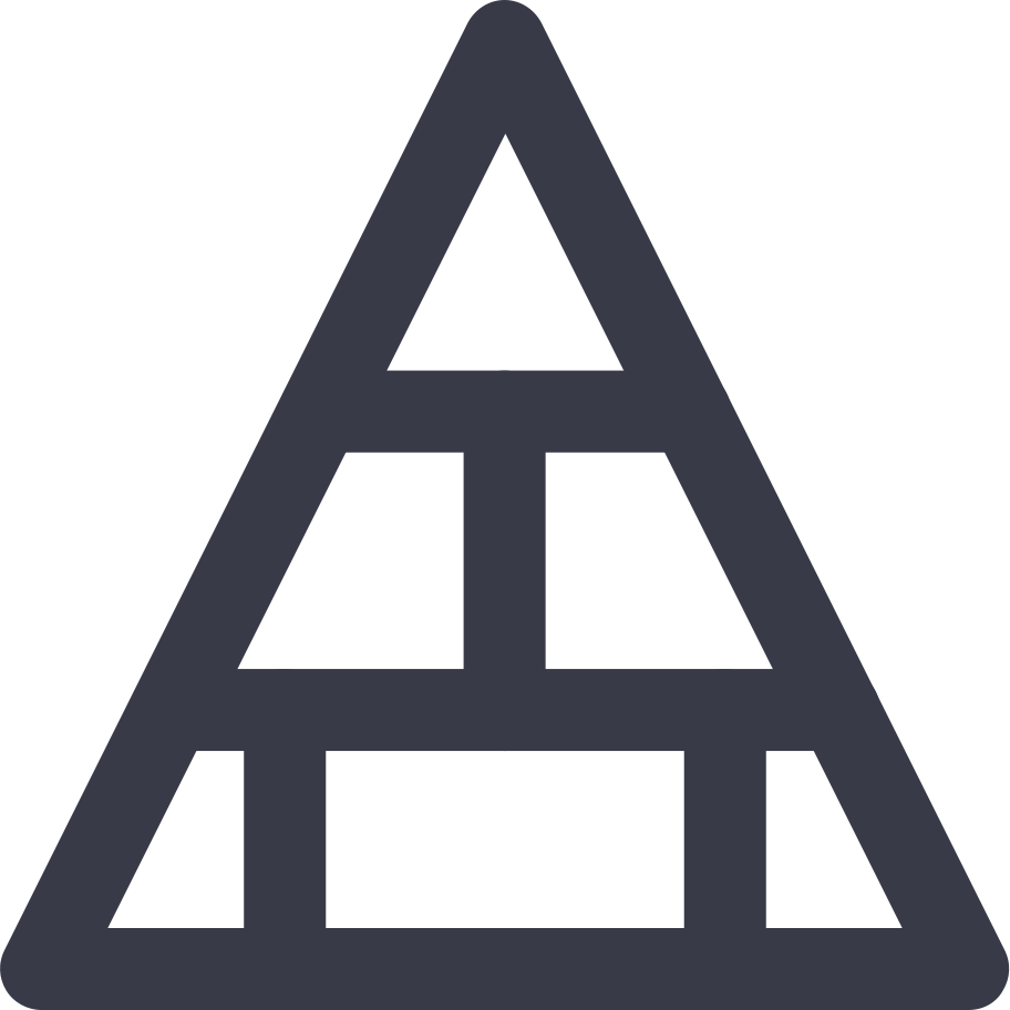 PNGとSVGの  スタイルの ピラミッド ベクターイメージ | Icons8 イラスト