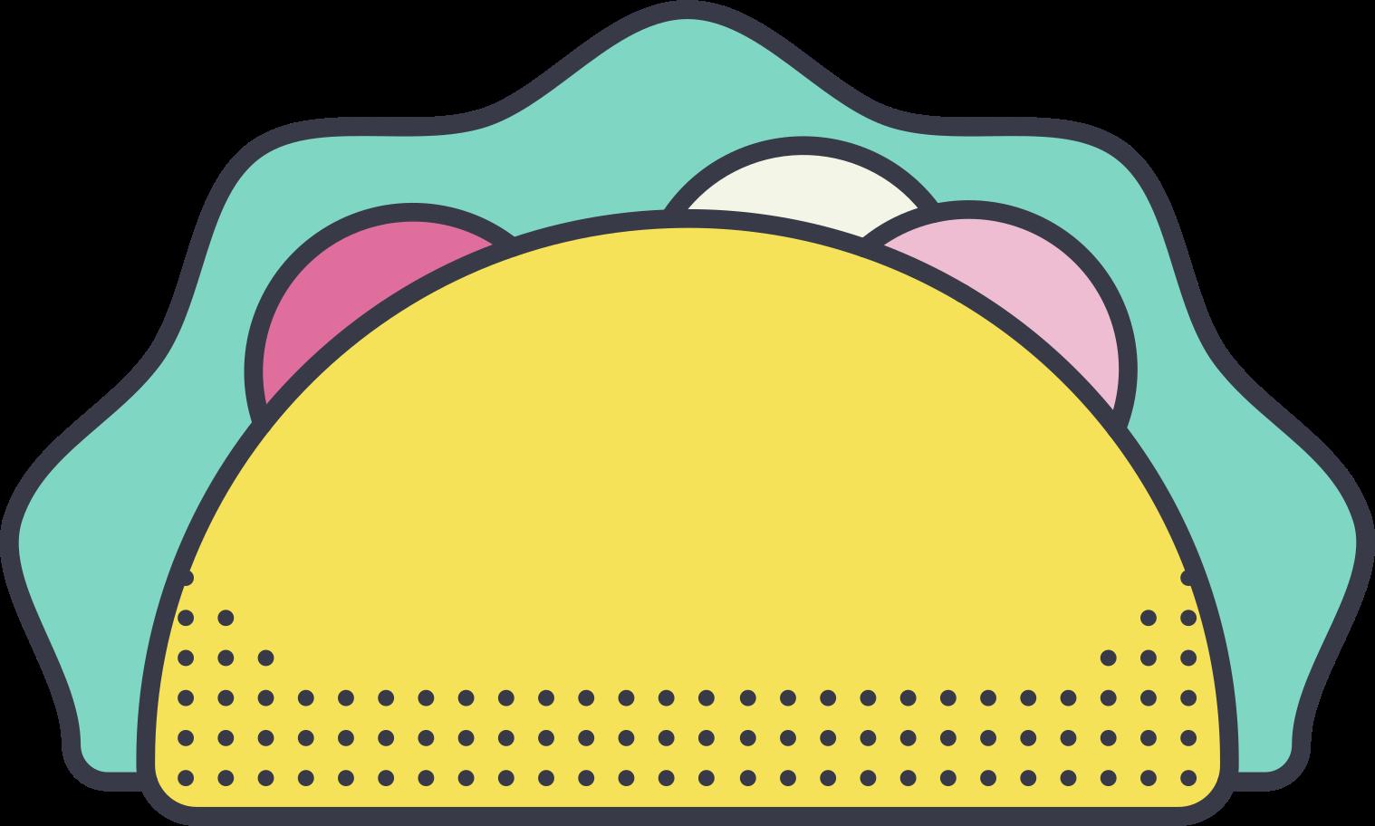 PNGとSVGの  スタイルの タコス ベクターイメージ   Icons8 イラスト