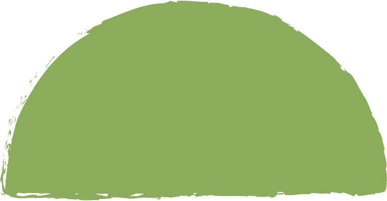 semicircle-dark-green Clipart illustration in PNG, SVG
