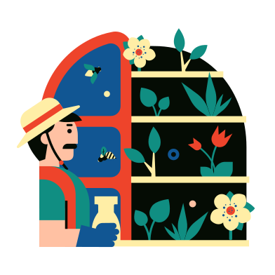style Vertical garden images in PNG and SVG | Icons8 Illustrations