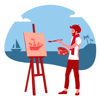 style Drawing near the sea images in PNG and SVG | Icons8 Illustrations