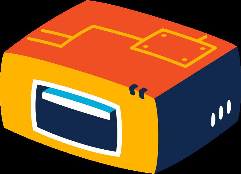 usb input Clipart illustration in PNG, SVG
