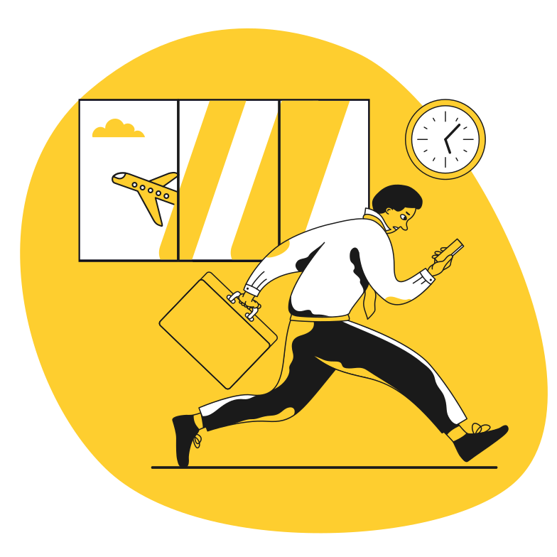 style Being late Vector images in PNG and SVG | Icons8 Illustrations