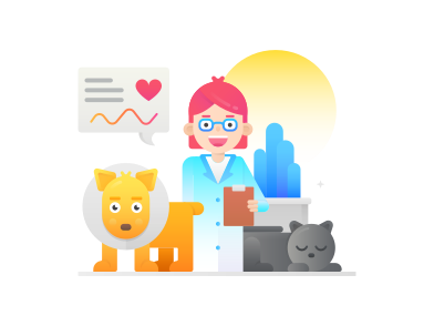 style animal que images in PNG and SVG | Icons8 Illustrations