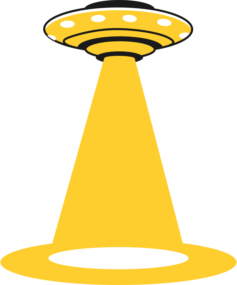 ufo middle Clipart illustration in PNG, SVG