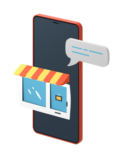 style Mobile store images in PNG and SVG | Icons8 Illustrations