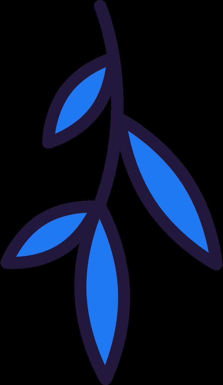 sprig Clipart illustration in PNG, SVG