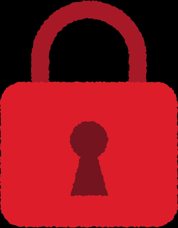 lock locked Clipart illustration in PNG, SVG