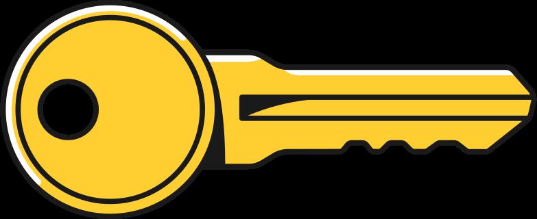 schlüssel groß Clipart-Grafik als PNG, SVG