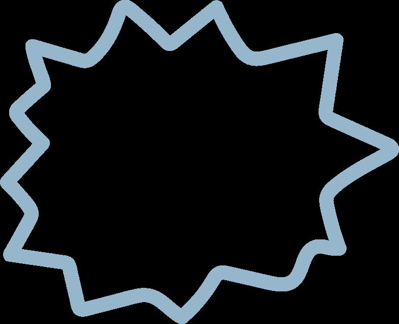 tk blue star Clipart illustration in PNG, SVG