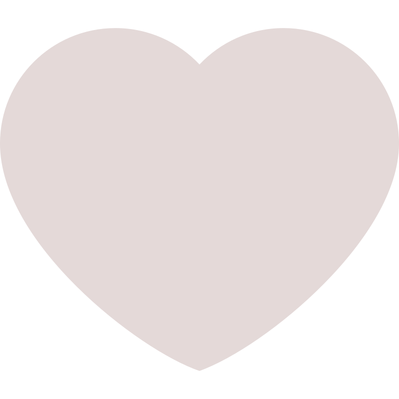 heart nude Clipart illustration in PNG, SVG