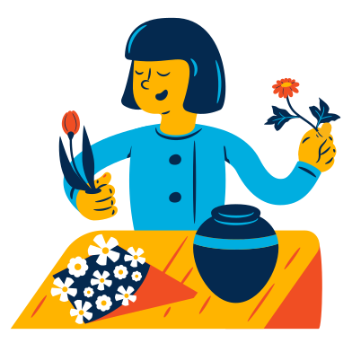style Florist images in PNG and SVG   Icons8 Illustrations