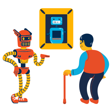 style Robot guide images in PNG and SVG | Icons8 Illustrations