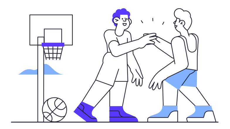 style Basketball game Vector images in PNG and SVG | Icons8 Illustrations