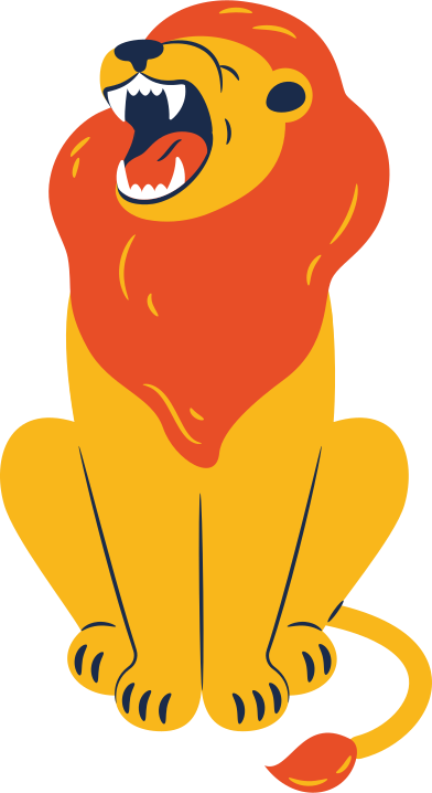 style lion sitting images in PNG and SVG | Icons8 Illustrations