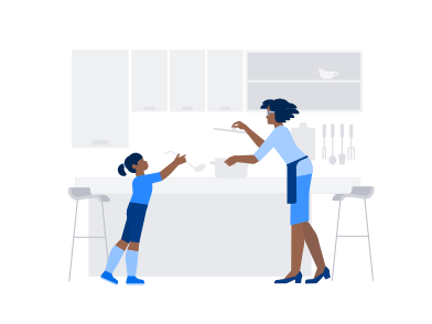 style Family cooking images in PNG and SVG | Icons8 Illustrations