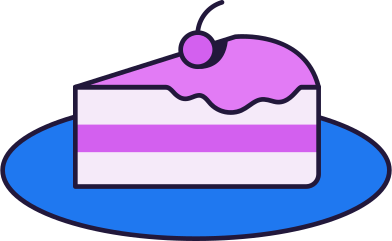 style cake slice images in PNG and SVG | Icons8 Illustrations