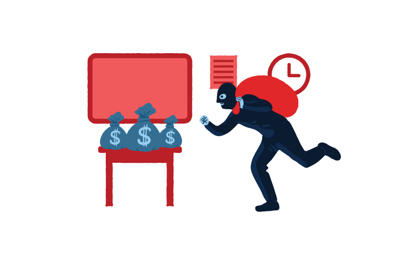 style About to steal money  Vector images in PNG and SVG | Icons8 Illustrations