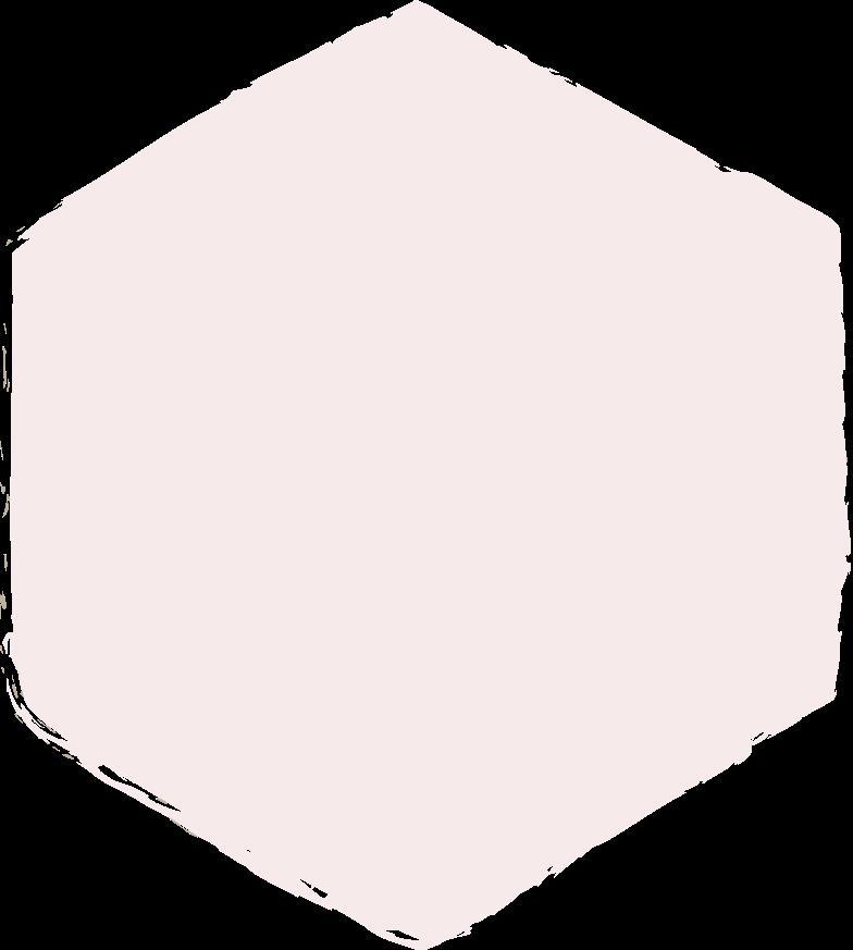 hexadon-light-pink Clipart illustration in PNG, SVG