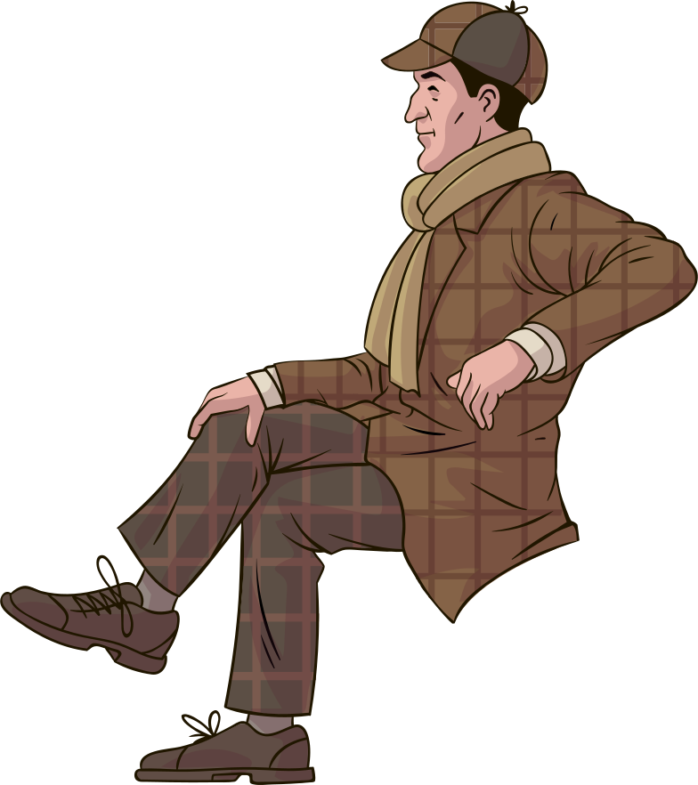 style sherlock holmes Vector images in PNG and SVG | Icons8 Illustrations