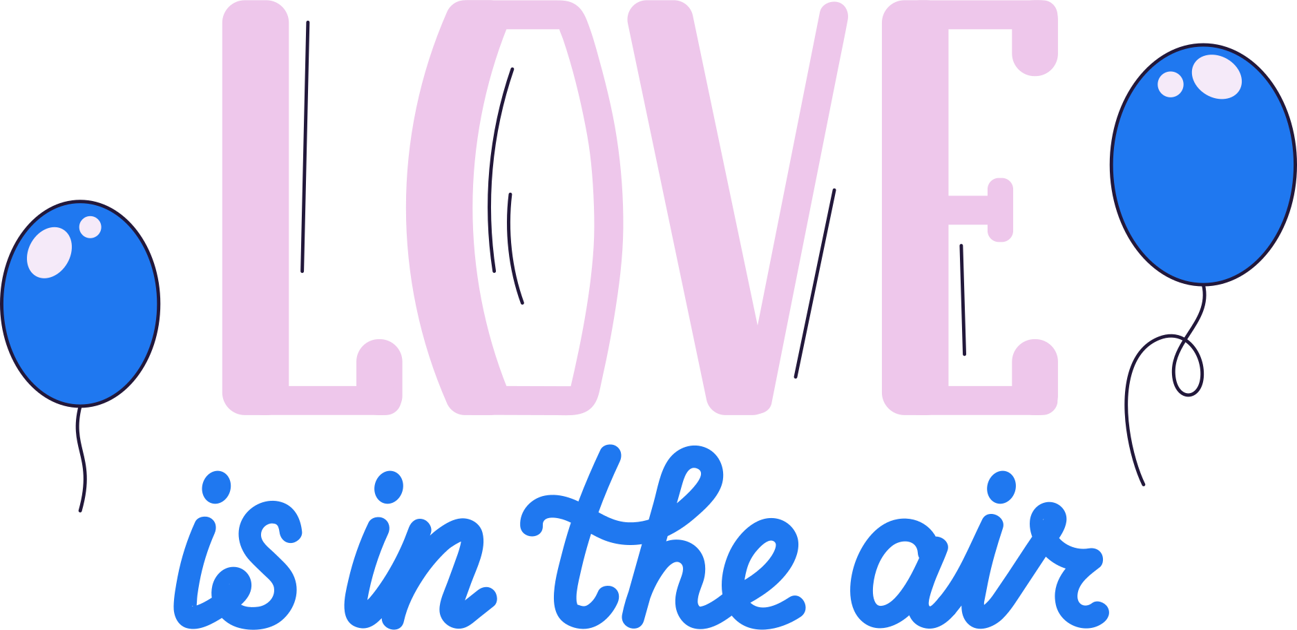 love is in the air Clipart illustration in PNG, SVG