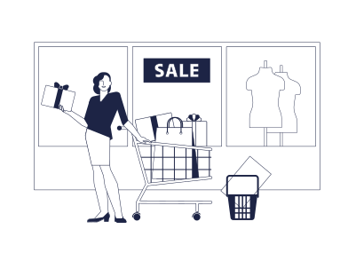 style Seasonal Discounts images in PNG and SVG | Icons8 Illustrations