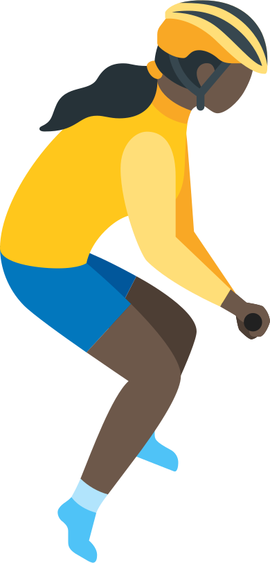 style girl cyclist images in PNG and SVG | Icons8 Illustrations