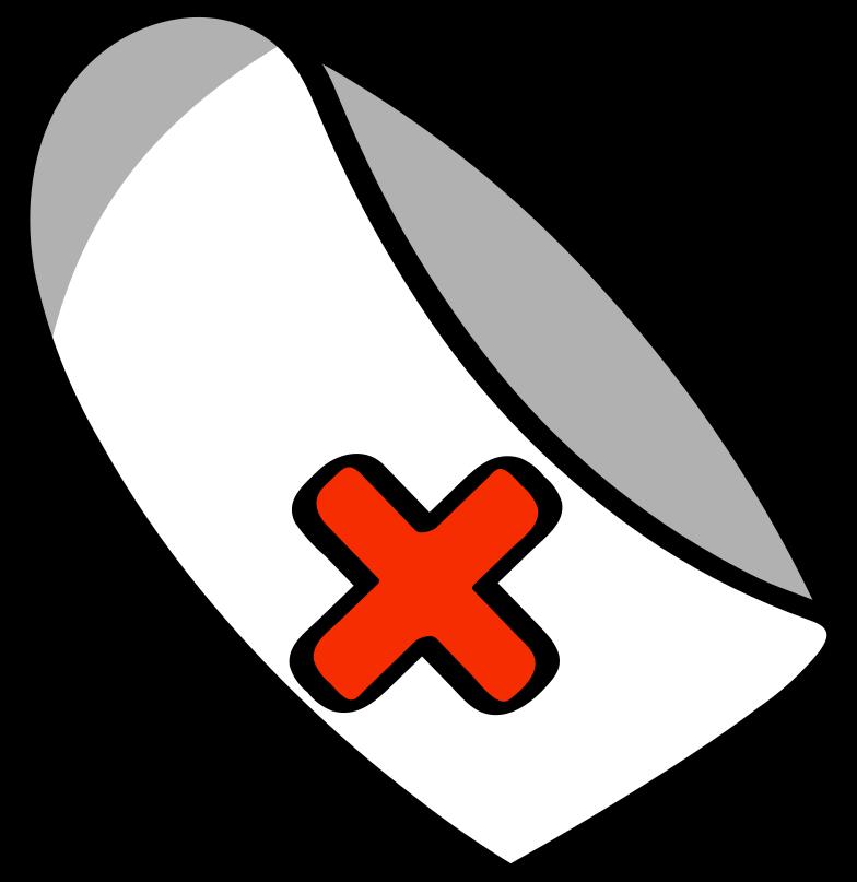 medical cap Clipart illustration in PNG, SVG
