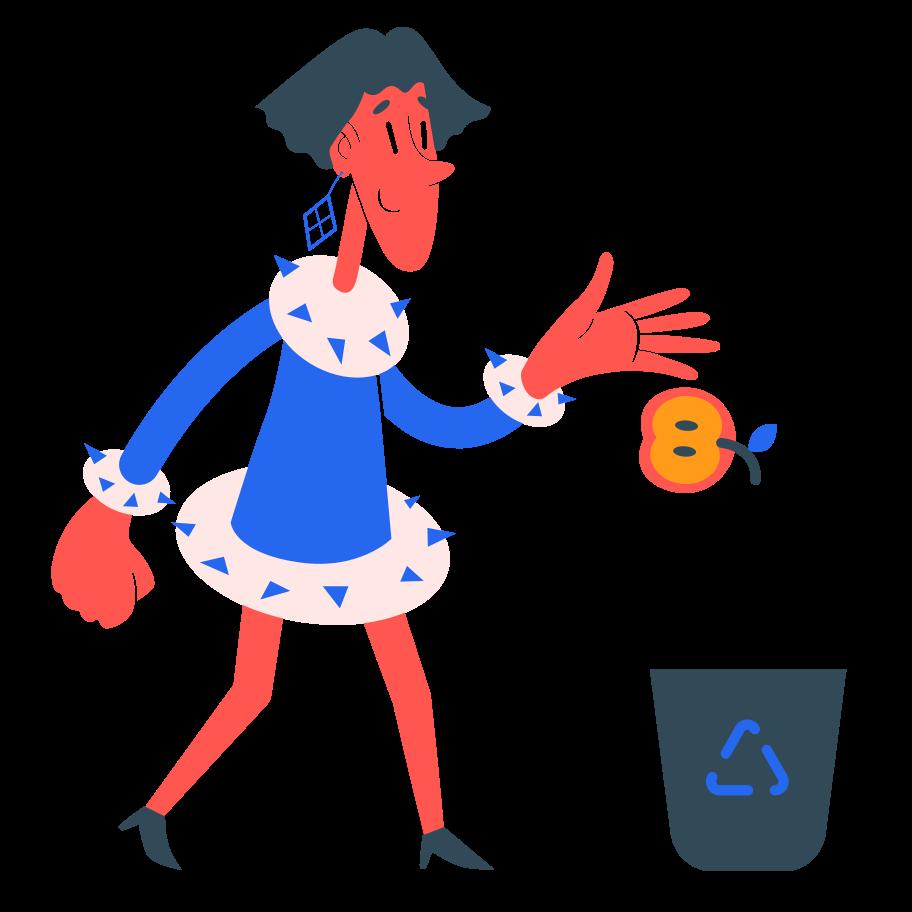 Imagens vetoriais de Reciclando lixo no estilo  em PNG e SVG | Ilustrações do Icons8