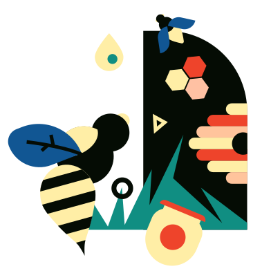 style Apiary images in PNG and SVG   Icons8 Illustrations