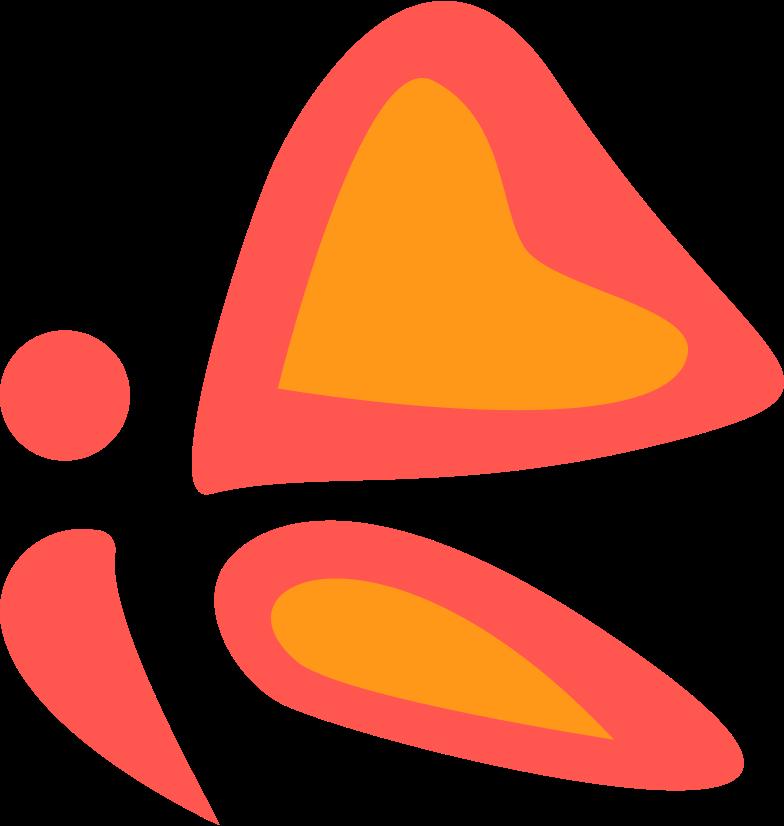 schmetterling Clipart-Grafik als PNG, SVG