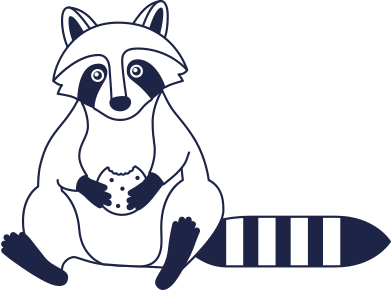 style raccoon line images in PNG and SVG | Icons8 Illustrations