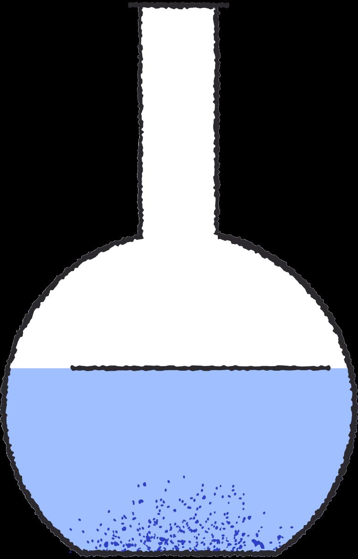test tube blue Clipart illustration in PNG, SVG