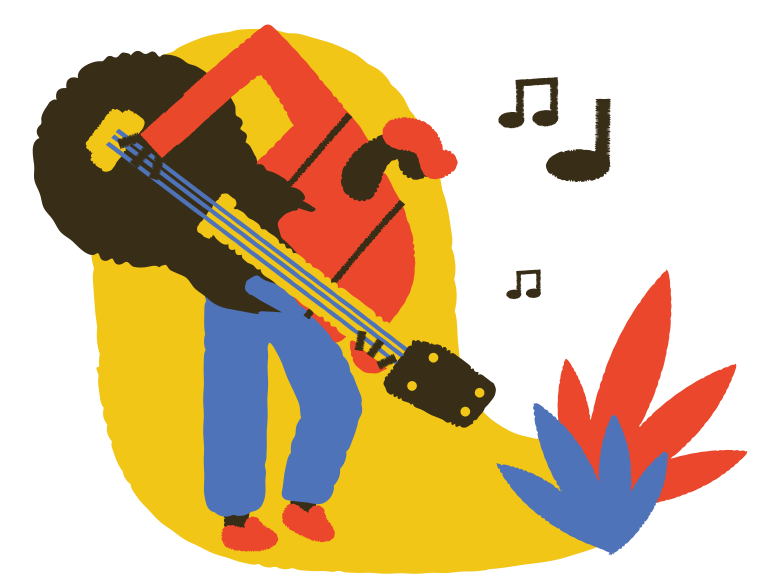 style Guitar player Vector images in PNG and SVG | Icons8 Illustrations
