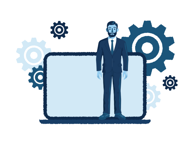 Business solutions Clipart illustration in PNG, SVG