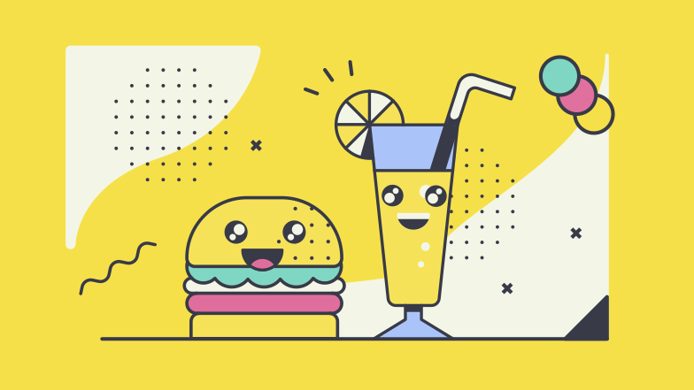 style Cute food Vector images in PNG and SVG | Icons8 Illustrations