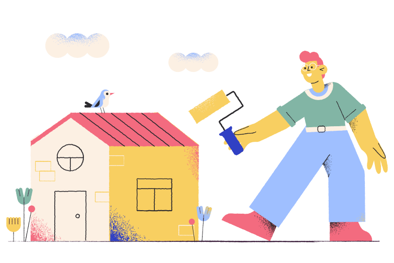 Decorator Clipart illustration in PNG, SVG