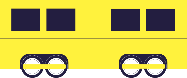 railway car Clipart illustration in PNG, SVG