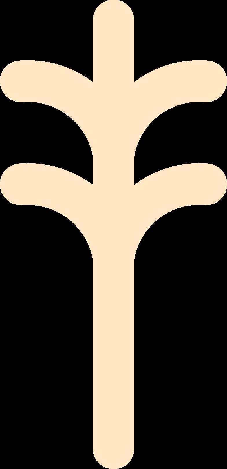 tree orange Clipart illustration in PNG, SVG
