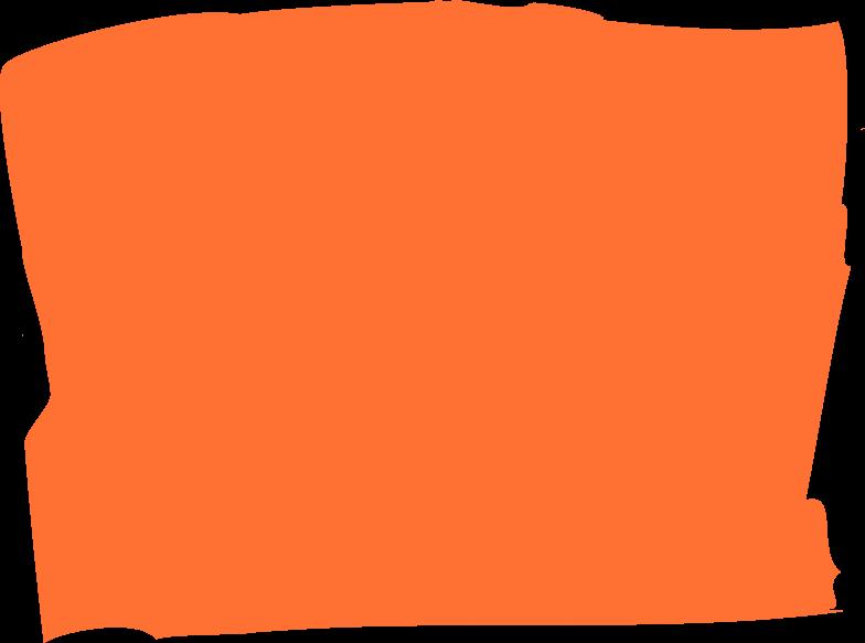 Orange rechteck Clipart-Grafik als PNG, SVG