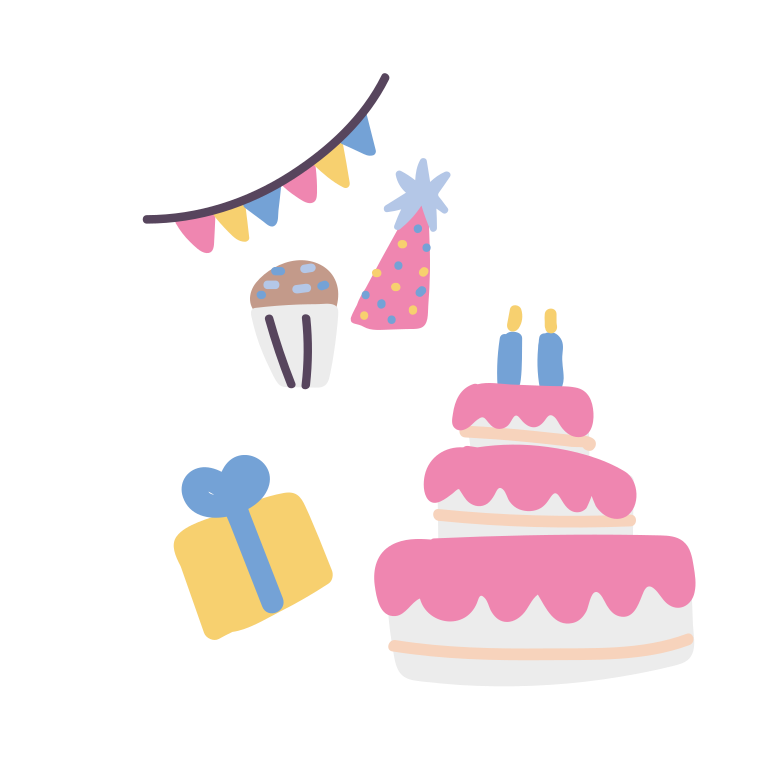 style Happy birthday Vector images in PNG and SVG | Icons8 Illustrations
