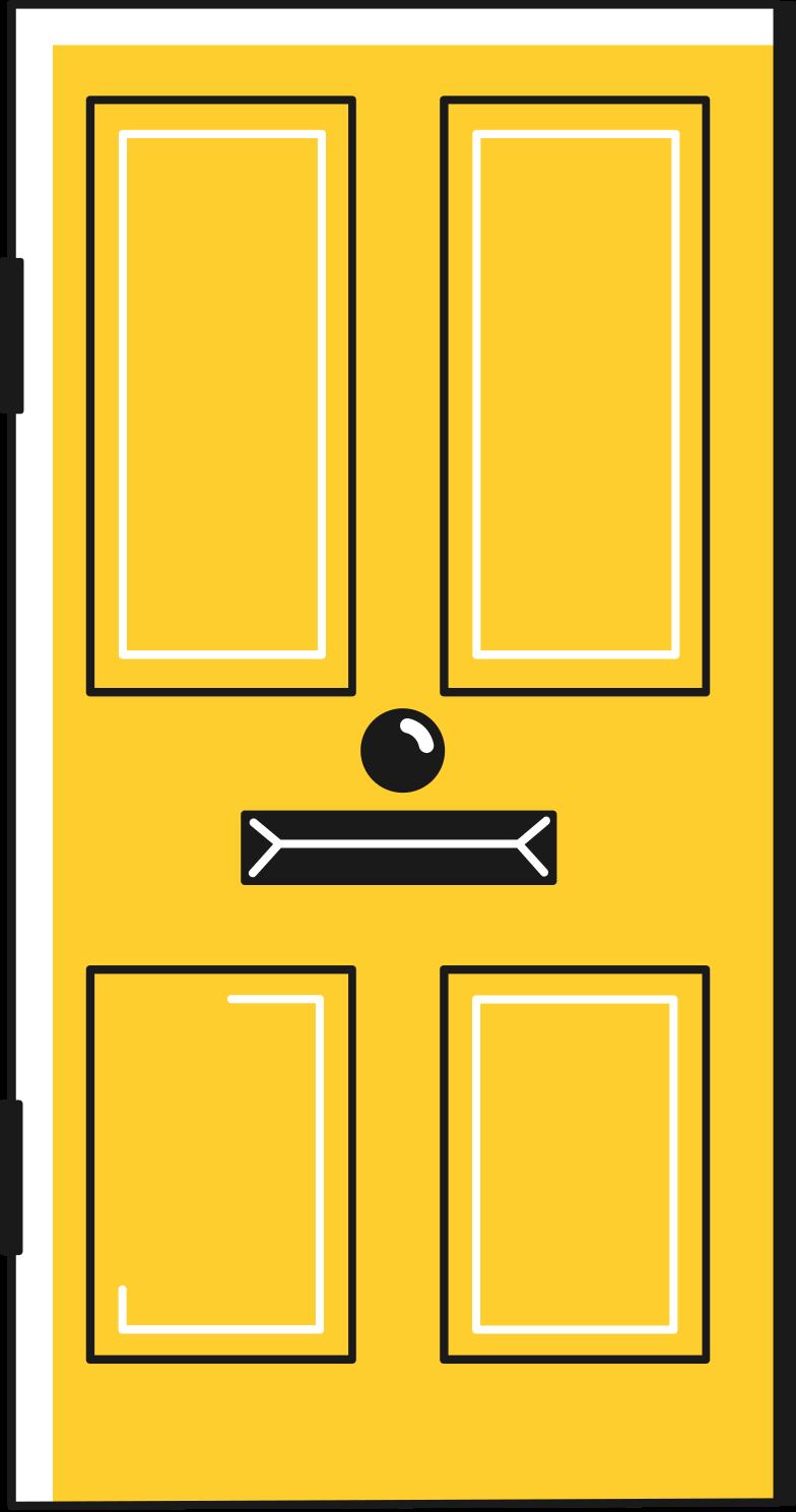 Vektorgrafik im  Stil door als PNG und SVG | Icons8 Grafiken