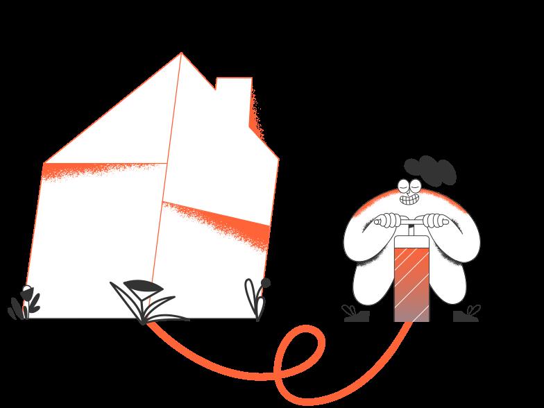 Demolish Clipart illustration in PNG, SVG