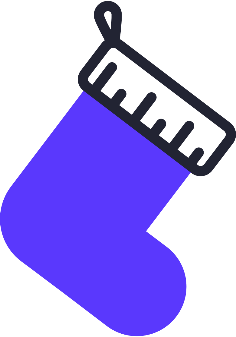 stocking Clipart illustration in PNG, SVG
