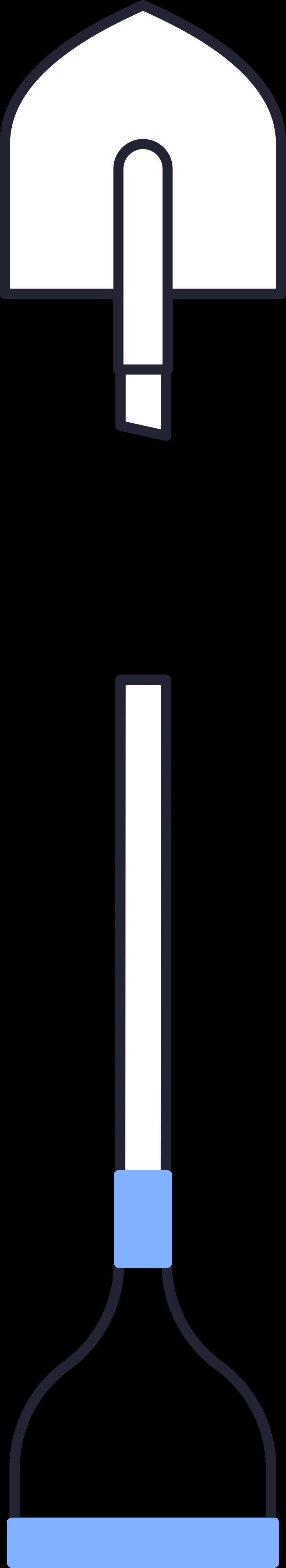 Colheita de pá Clipart illustration in PNG, SVG