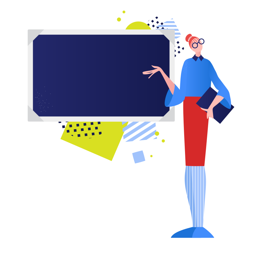 style School teacher at the blackboard Vector images in PNG and SVG   Icons8 Illustrations