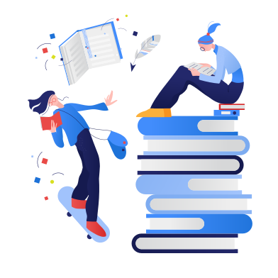 style Reading of books images in PNG and SVG | Icons8 Illustrations